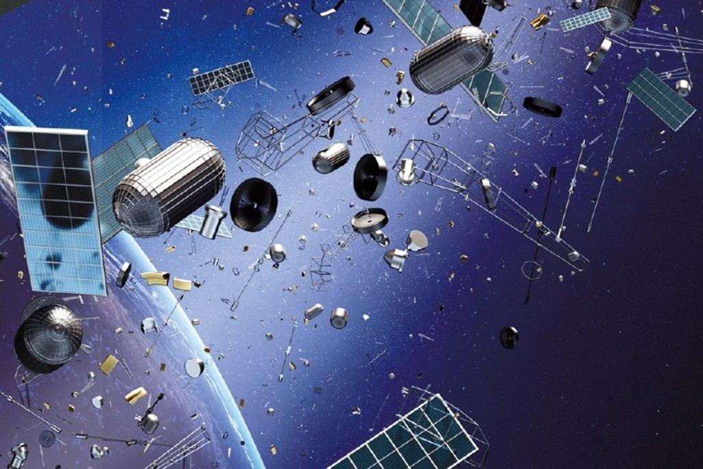 фото спутников на орбите земли вешать отдельности